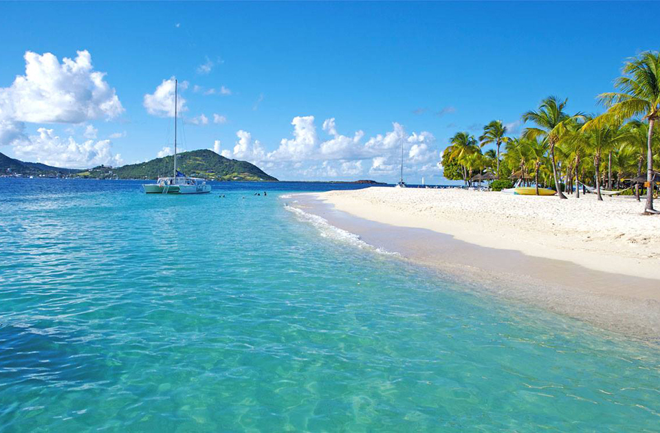 Palm Beach, St Vincent Island