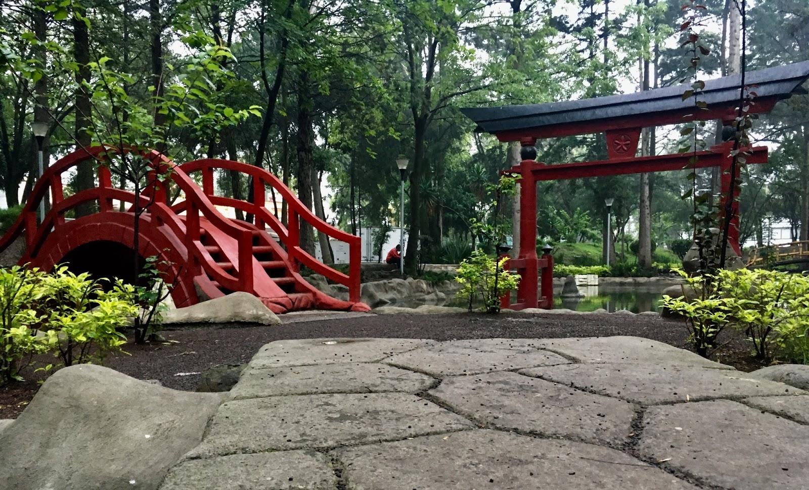 Parque de la Pagoda.