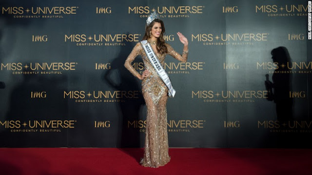 Miss France Crowned Miss Universe 2017