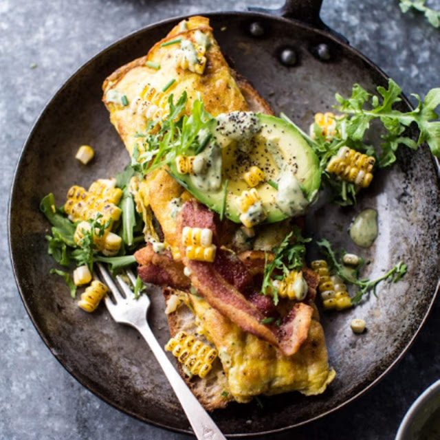 Simple California Style Omelet