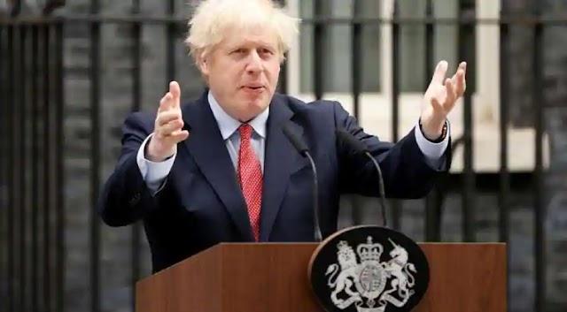 British PM urges using scientific advances to battle climate change
