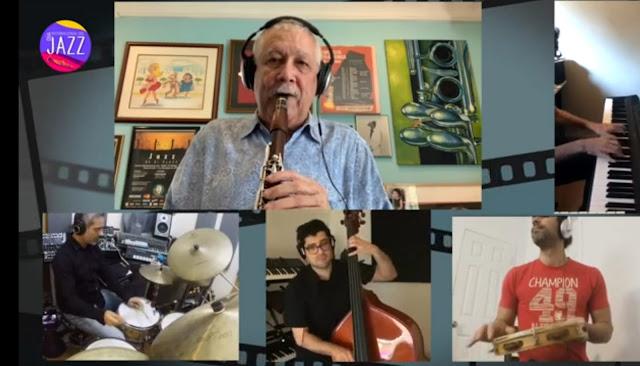 Concierto histórico de clarinetistas latinos dedicados al jazz. Clariperu y paquito d'Rivera