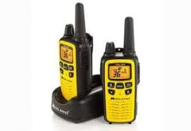 Camping gift ideas for this year include a set of walkie talkies for the family.