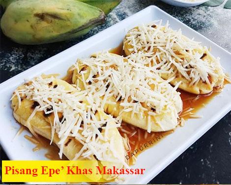 Pisang Epe' Khas Makassar