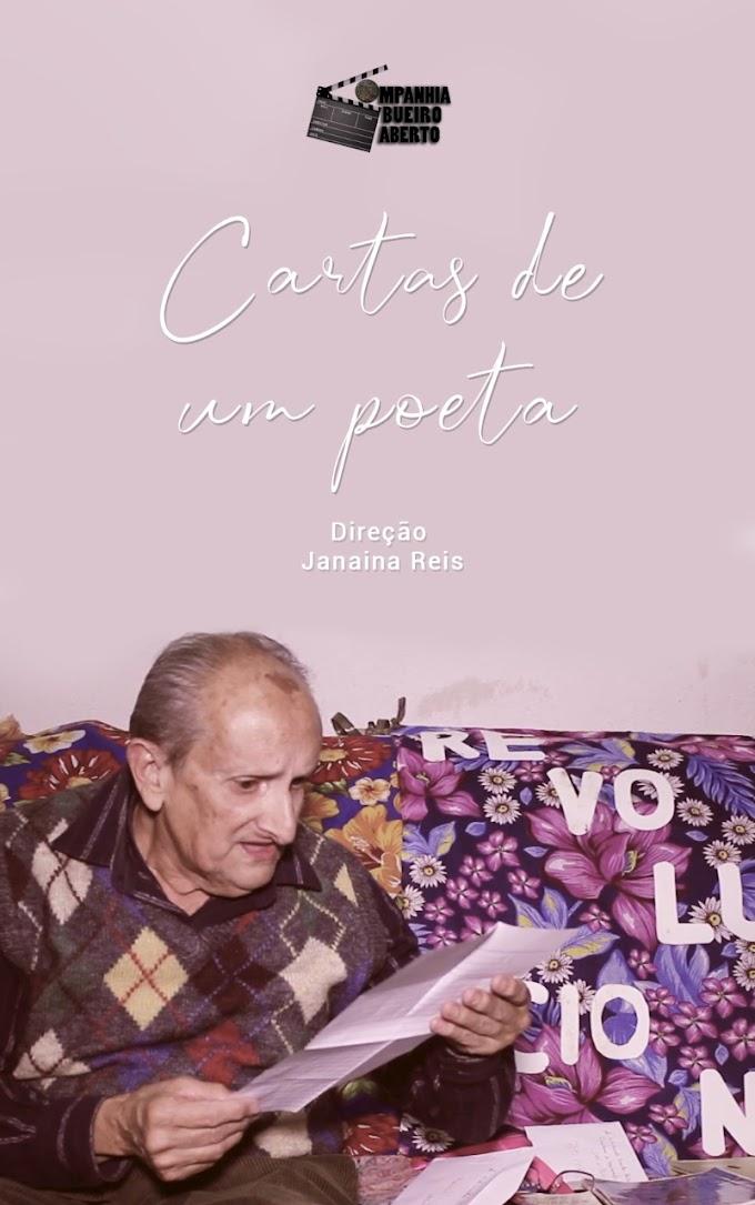 Cartas de um poeta (Companhia Bueiro Aberto) Janaina Reis.