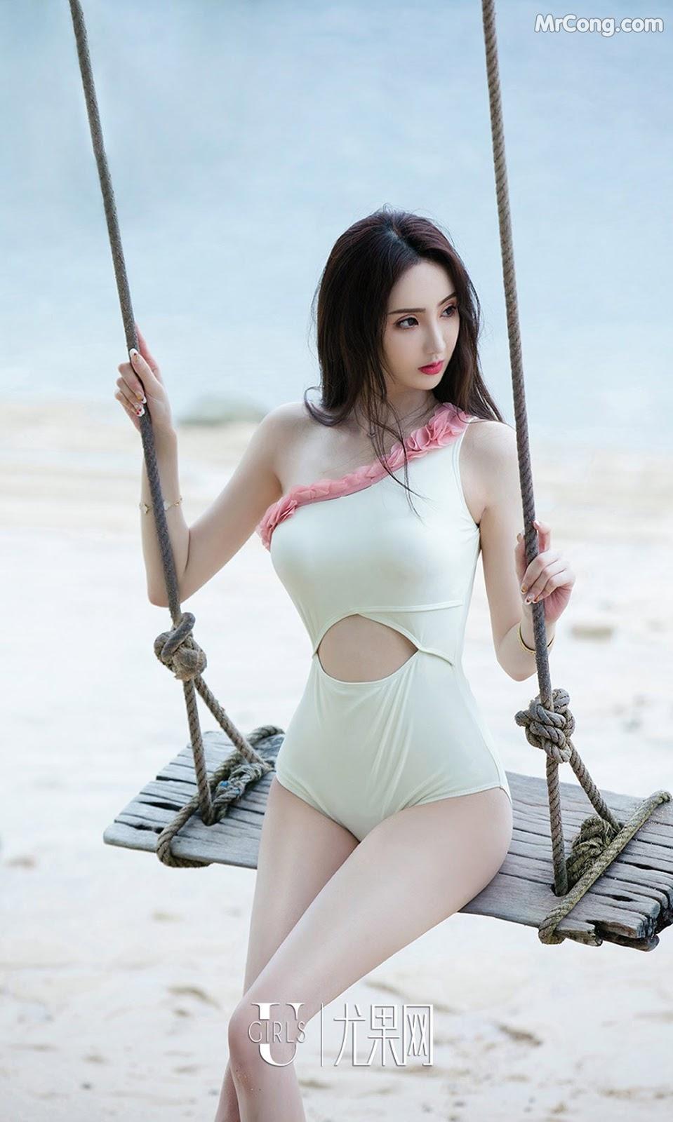 Image UGIRLS-Ai-You-Wu-App-No.1130-Yu-Sai-Qi-MrCong.com-001 in post UGIRLS – Ai You Wu App No.1130: Người mẫu Yu Sai Qi (于思琪) (35 ảnh)