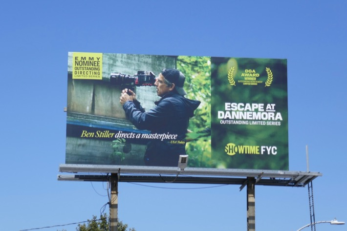 Escape at Dannemora Emmy nominee billboard