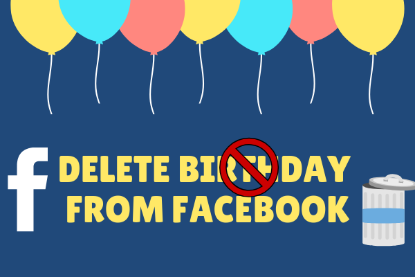 Delete Birthday From Facebook