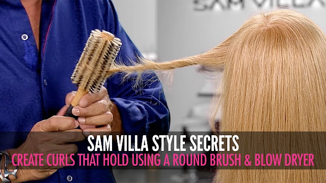 How to Blow Drying Hair With a Round Brush