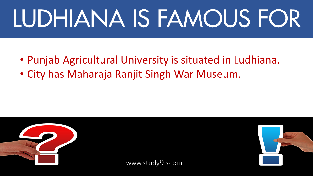 Ludhiana Is Famous For which industry