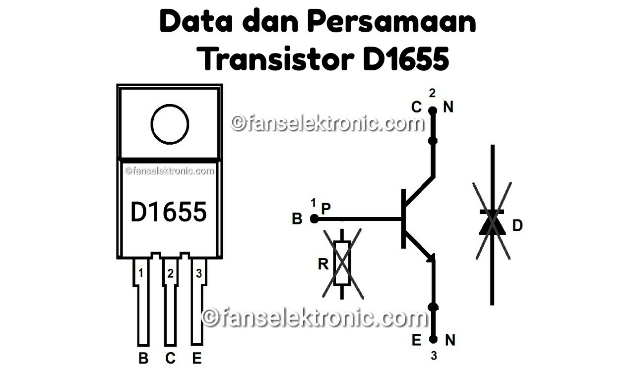 Persamaan Transistor D1655