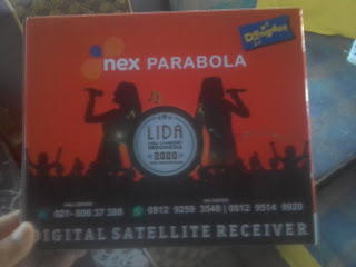 Review Reciver Nex Parabola