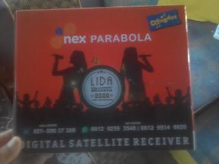 Review Reciver Nex Parabola