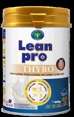 Sữa tuyến giáp Lean pro Thyro