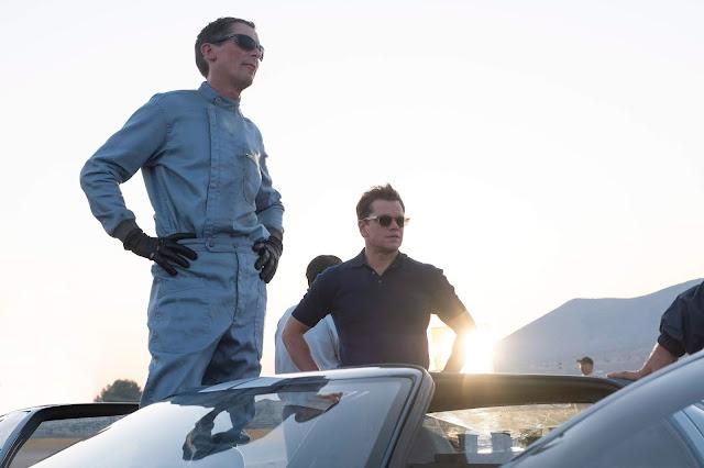 "Christian Bale e Matt Damon levam o sonho americano para as pistas no trailer de ""Ford vs Ferrari"""