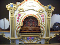 An old-fashioned and original Wurlitzer Organ