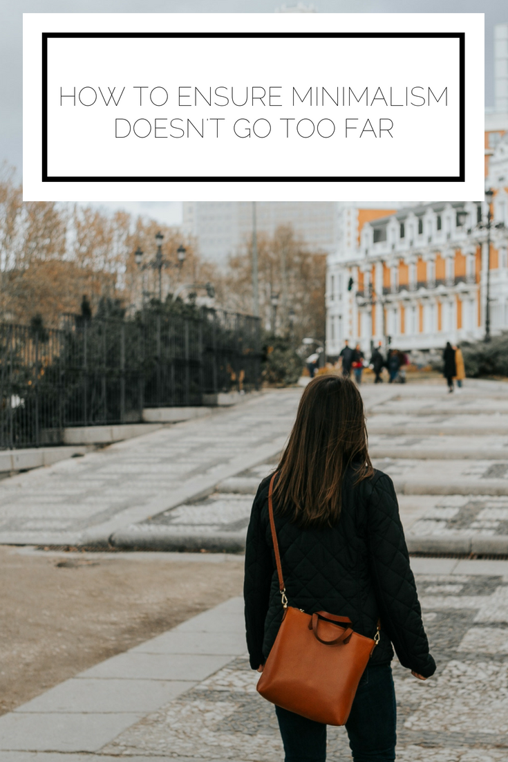 Click to read now or pin to save for later! Have you ever found yourself challenged by minimalism when you don't have exactly what you need? Find out how to determine if your minimalism has gone too far