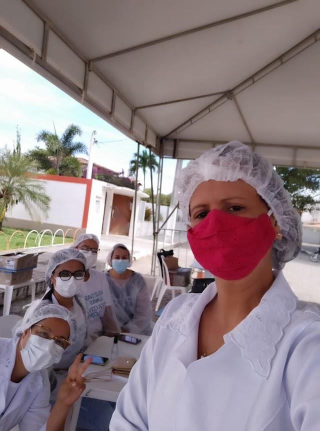 Vacinação contra Covid-19: 1ª e 2ª dose Astrazeneca serão aplicadas apenas na Praça Sumaúma nesta segunda-feira