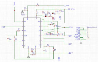 Driver schematic 500W Class-D Amp IRS20957 SMD