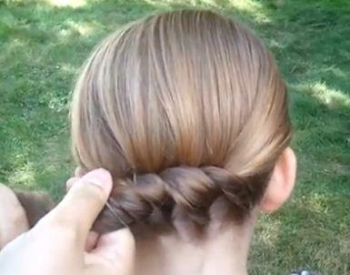 para mas detalles de como hacer este peinado fcil para nias checa el siguiente paso a paso