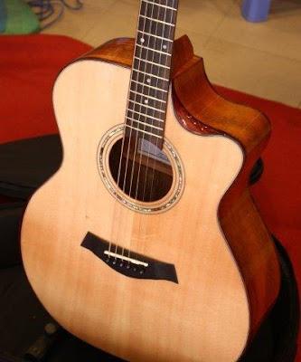 Bán đàn Guitar Acoustic W10 giá 3 triệu 2