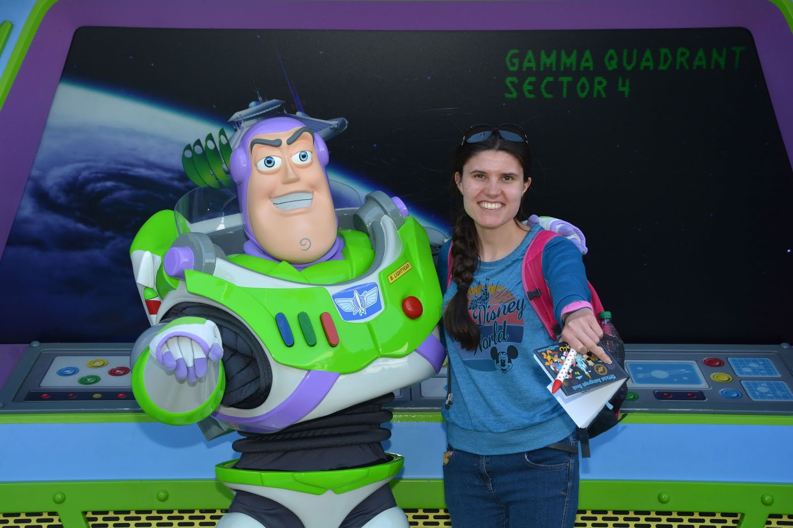 Meeting Buzz Lightyear at Disney's Magic Kingdom, Walt Disney World