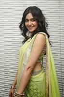 HeyAndhra Adah Sharma Gorgeous Photos in Saree HeyAndhra.com
