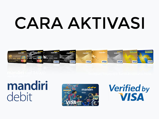 Cara Aktivasi Verified by Visa (3D Secure) Pada Kartu Mandiri Debit Untuk Transaksi Online