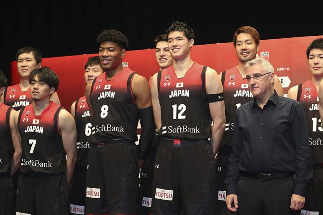 Japan's 12-man Roster for the FIBA World Cup 2019