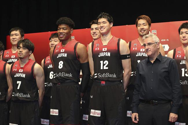Japan's 16-man pool for the FIBA Basketball World Cup 2019