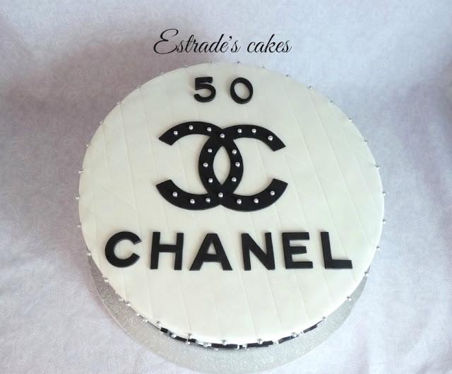 tarta de Chanel para un cumpleaños 2
