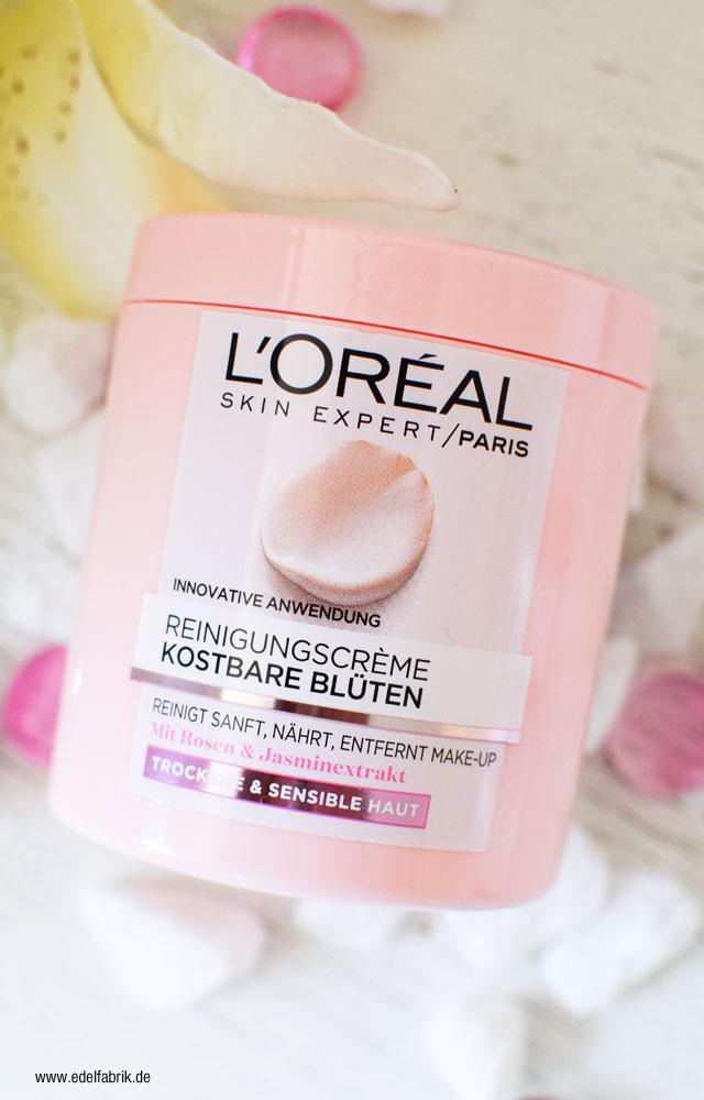 L'Oréal Kostbare Blüten Make Up Removal Creme Test