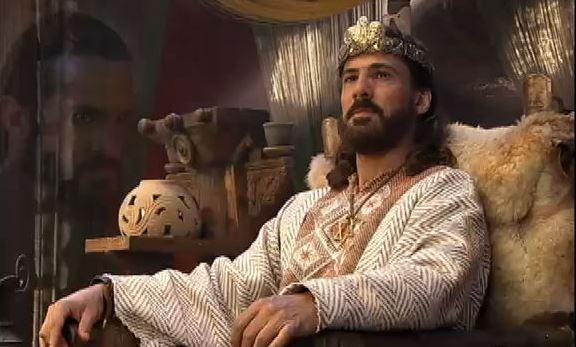 Rei Davi lutando contra a inveja