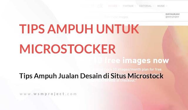 Tips Ampuh Jualan Desain di Situs Microstock