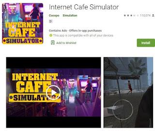 Cara Mudah Download Game Internet Cafe Simulator for Android