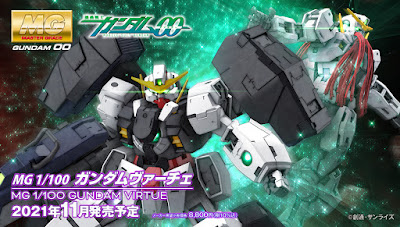 MG 1/100 Gundam Virtue Announced With Official Images