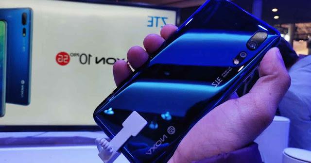 مواصفات وسعر هاتف زد تي اي اكسون 20 5 جي ZTE AXON 20 5G