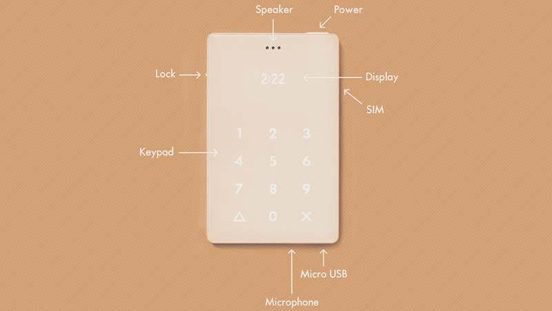 Ponsel Minimalis