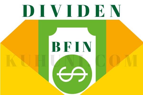 Jadwal Pembagian Dividen BFIN / BFI Finance Indonesia Tbk 2020