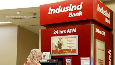 Visit branch to find Induind customer id