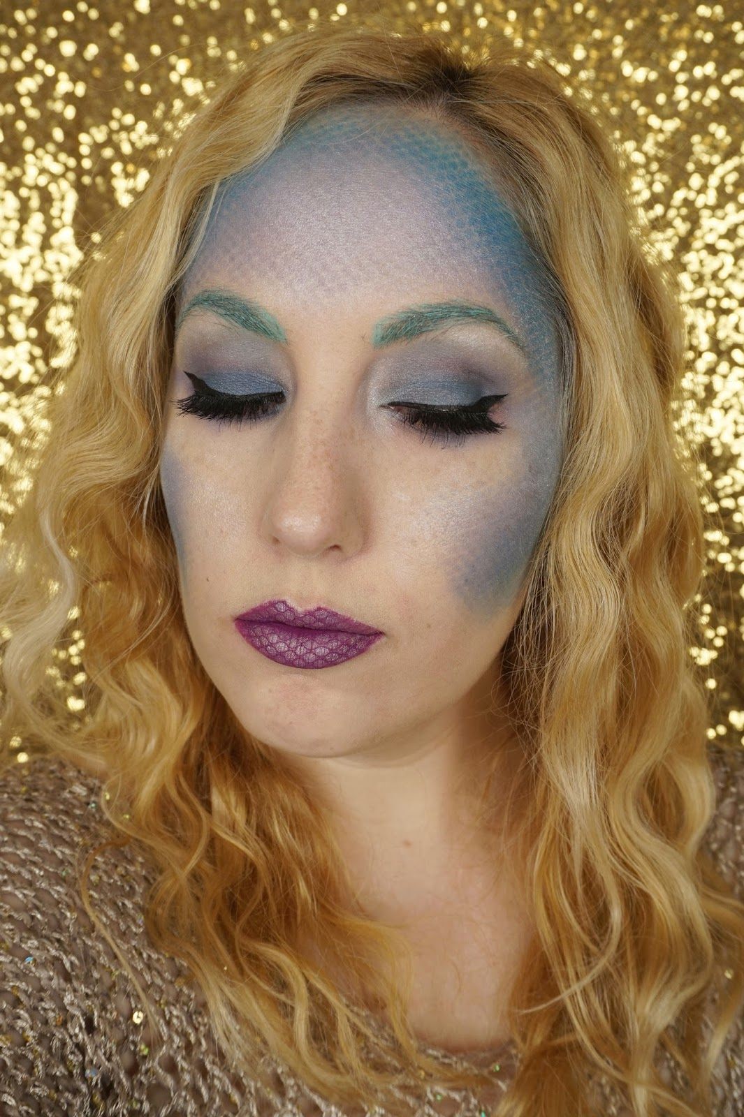 Mermaid Makeup For Halloween