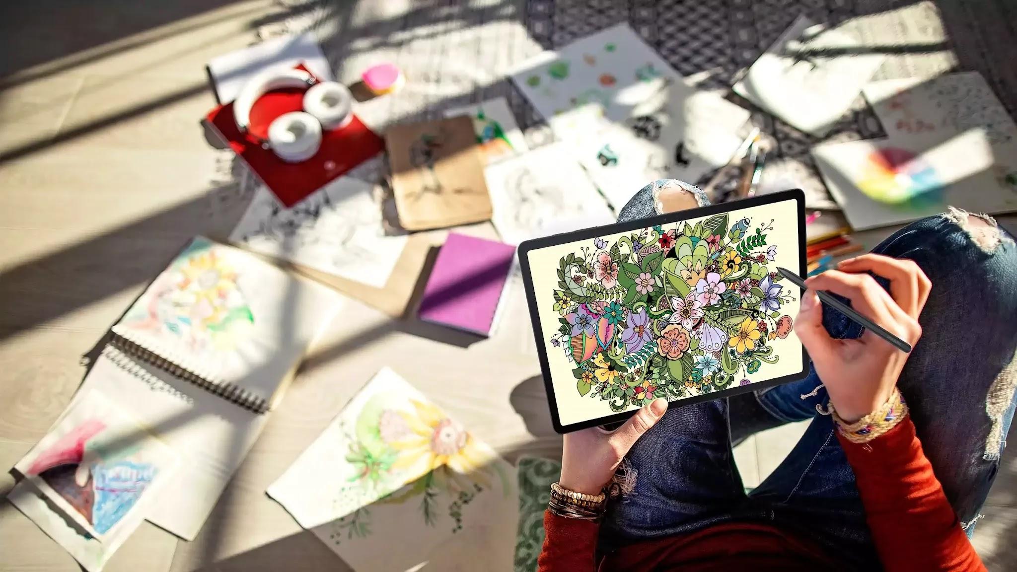 Express creativity anytime, anywhere