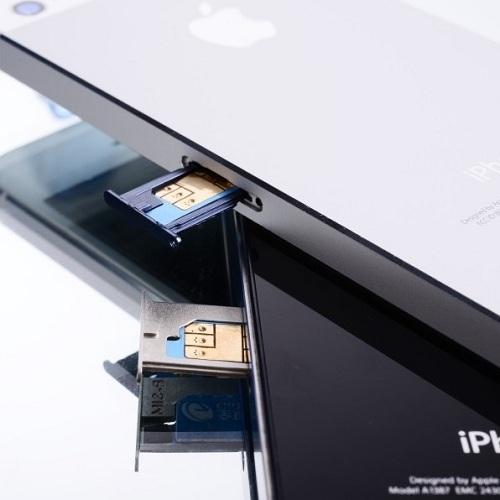 Cách dùng sim ghép cho iPhone 5