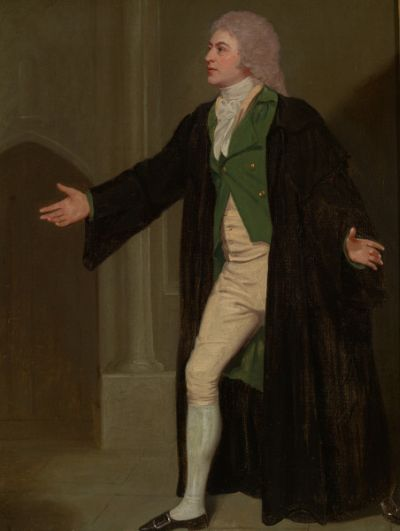 Thomas Caulfield - portrait de Samuel De Wilde - (c) Garrick Club