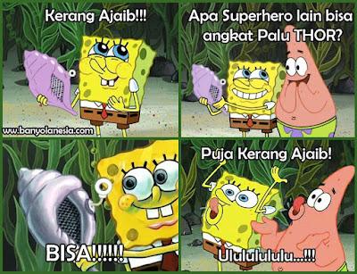 Kerang ajaib spongebob