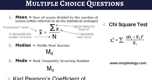 Multiple Choice Questions on Agriculture Statistics MCQ