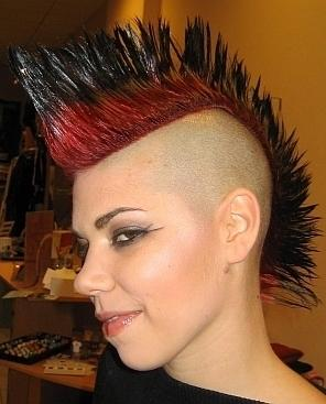 Bob Hairstyle Profile Of A Punk Girls Hairstyles
