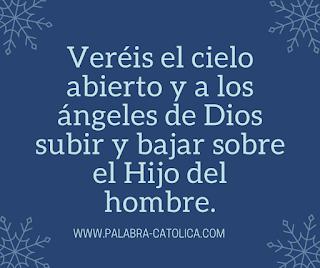 Evangelio del dia Martes  29 de Septiembre 2020 - Juan 1,47-51