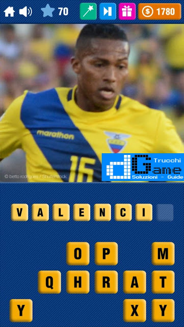 Calcio Quiz 2017 soluzione livello 61-70 | Parola e foto