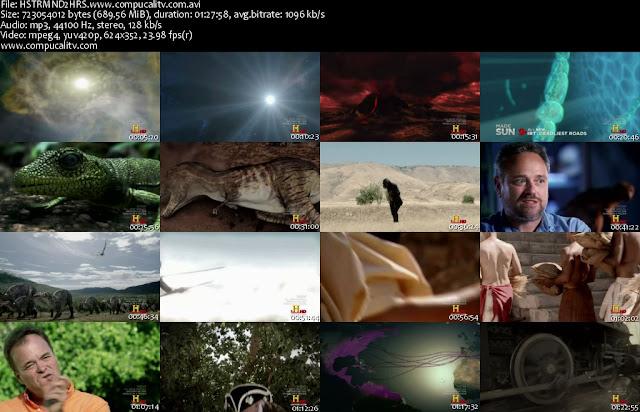 La Historia del Mundo en 2 Horas DVDRip Español Latino Descargar 1 Link